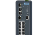 8FE+2G Combo Managed Ethernet Switch, -40~75℃