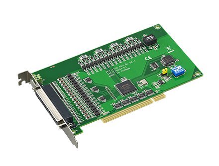 32-ch Isolated Digital I/O and 1-ch Counter PCI Card