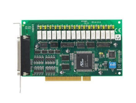 16-ch Relay and 16-ch Isolated Digital Input PCI Card