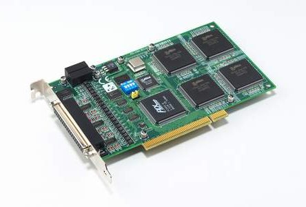 4-axis Quadrature Encode/Counter Universal PCI Card with 8-ch Isolated Digital I/O