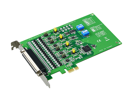 4-port RS-232/422/485 PCIe Communication Card w/Surge & Isolation