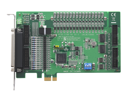 32-ch TTL and 32-ch Isolated Digital I/O PCIE Card