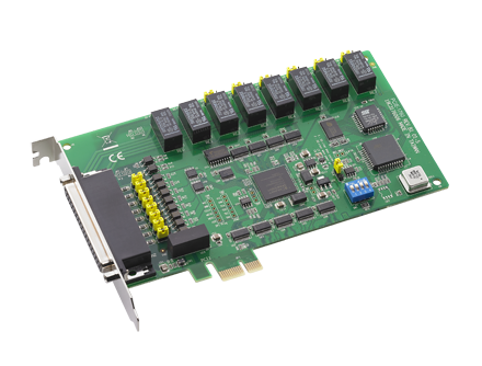 8-ch Relay and 8-ch Isolated Digital Input PCIE Card
